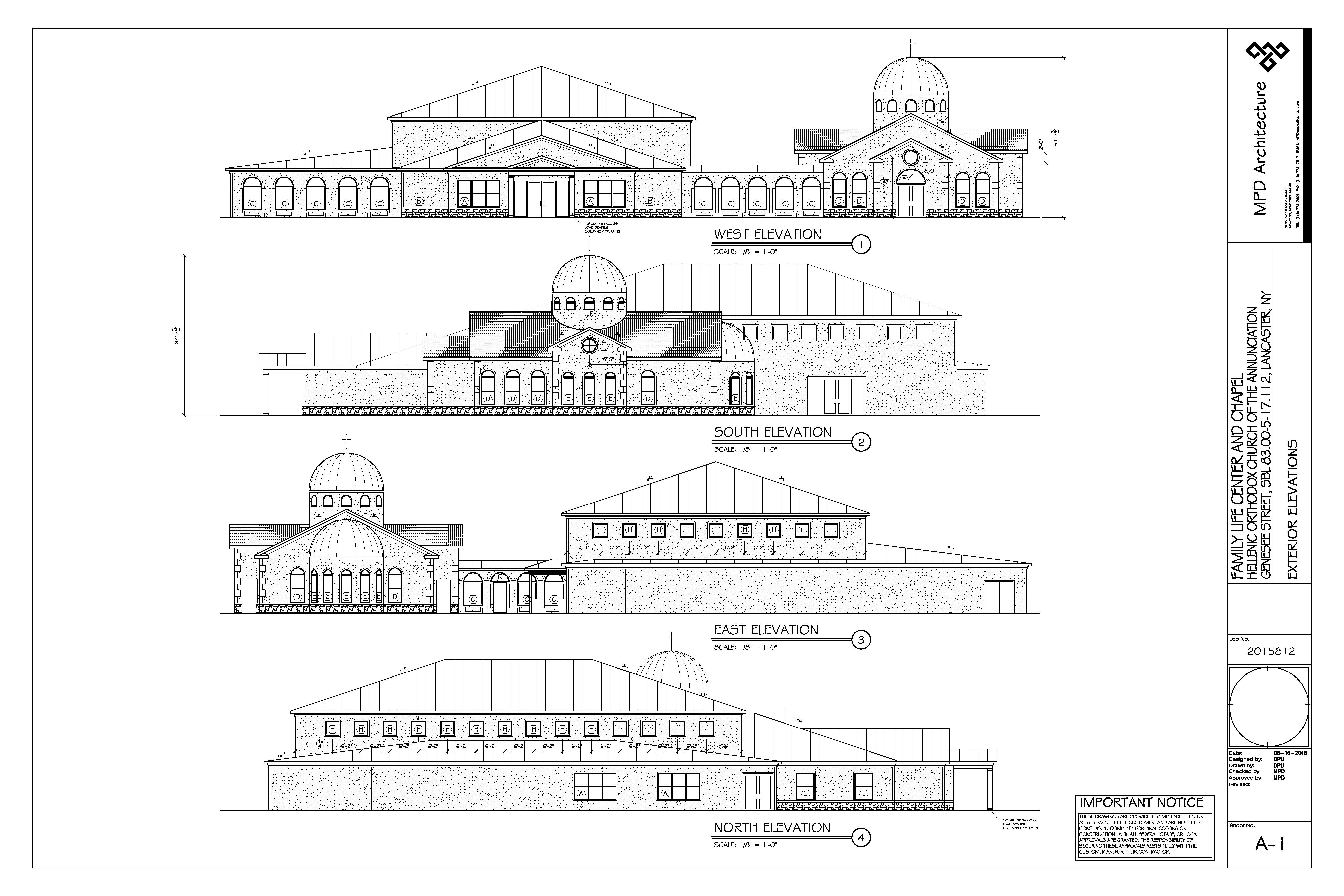 architectural plans annunciation greek orthodox church architectural plans