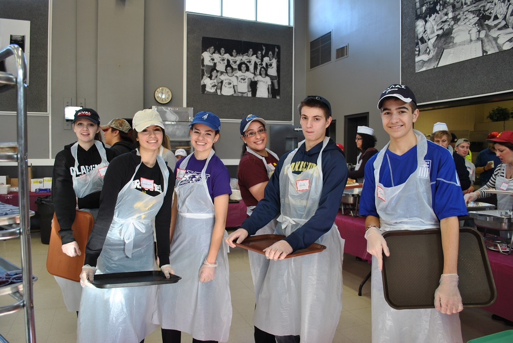 at a soup kitchen in buffalo new york were encouraged by the of greek